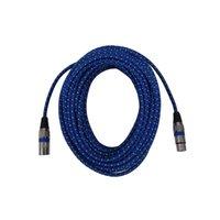 cable para audio xlr al por mayor-Micrófono Conector de Audio Pin XLR Hembra Cable de Micrófono Cable de Audio de Extensión Para el Mezclador 20 M