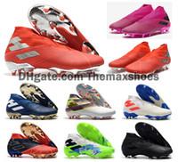 Details zu Adidas Predator 19.4 Fg Festen Boden Kinder Fußball Stiefel Dunkel Schrift