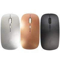 schnell wiederaufladbar großhandel-1pc nachladbare drahtlose Maus USB Schnellladestromspar-Mute Desktop-Notebook-Computer-Gaming Bluetooth Mouses