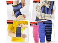 meias manga de joelho venda por atacado-Pé Tornozelo apoio Socks Knee Pads Bumper joelho apoiar Futebol Basquetebol Leg luva Sports Kneepad Protector Elbow apoio para o punho