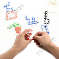 Wholesale magic ruler toy for sale - Group buy 24 Sections Variable Magic Ruler Intelligence Folding Transform Cube Factory Education Toys Gift for Children