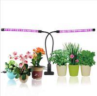 ingrosso luci girevoli gialle-USB LED Grow Light Fitolampy USB Full Spectrum Phyto Lamp con controller per Fitolamp serra vegetale fiore pianta