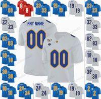 futebol acc venda por atacado-NCAA Pittsburgh Panteras Larry Fitzgerald Kenny Pickett James Conner Pitt ACC Personalizado Qualquer Nome Qualquer Número de Futebol costurado Homens Mulheres Juventude