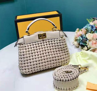 shouler handtaschen groihandel-Designer Crochet Modell Handtasche Uni Dessin-Handtaschen arbeiten Dame Shouler Beutel-Qualitäts-Senior Design Feels Frauen Kreuz-Schulter-Beutel / 3