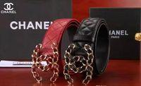 accesorios de moda de calidad al por mayor-Diseñador de moda accesorios de cinturón hombres de metal hebilla animal cinturón de cuero real textura de Lichi cinturón 3.8 cm de calidad superior con caja