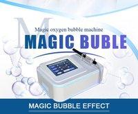 körper sauerstoff maschine großhandel-Japanische magische Sauerstoffblasentherapiemaschinenhaut und -körper, die tief saubere Schönheitsmaschine weiß werden