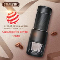 Wholesale manual capsule for sale - Group buy STARESSO Second generation BAR Italian Concentrate Coffee Machine Manual Capsule Coffee Powder Maker Portable Outdoor Coffee Pot