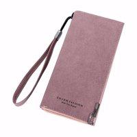ingrosso borse della signora giapponese-Donna Scrub Handbag Lungo stile giapponese e coreano femminile con fibbia con cerniera Portafoglio semplice da donna