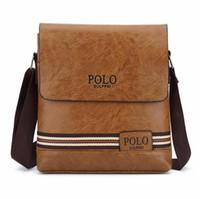 Wholesale messenger bags men brown for sale - Group buy Brand Men s Messenger Bags Promotion Designers PU Leather Vintage Men Shoulder Bag Man Crossbody bag Flap