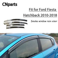 Wholesale ford fiesta accessories for sale - Group buy CNparts ABS For Ford Fiesta Hatchback Car Smoke Window Sun Visor Keep Fresh Air convection Accessories
