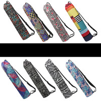 Wholesale yoga mat gym bags resale online - Yoga Mat Bags with Pocket Fit Most Size Mats Multi Purpose Carryyall Bag for Yoga Travel and Gym