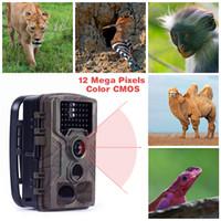 cámara de exploración 12mp al por mayor-HC800M 12MP 940nm Trail Cameras MMS GPRS Cámara de caza de exploración digital 3g Trampas fotográficas Visión nocturna Cámara salvaje chasse