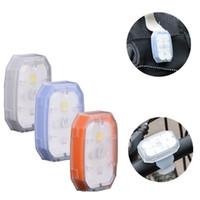 armband licht großhandel-Fahrrad Reiten Signal Lampe Nachtlichter Beleuchtung Arm Band Langlebig Und Praktisch Energieeinsparung Blau Weiß 8yb C1
