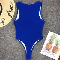 strandstrumpfhosen großhandel-2019 Enge Fest Badeanzug Badeanzug Frauen Bademode Elastic Badeanzug Thong Bodysuit Sexy Bikinis Beach Wear