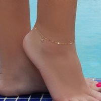 Wholesale anklet sexy leg for sale - Group buy 2019 Fine Sexy Anklet Bracelet Cheville Barefoot Sandals Foot Jewelry Leg Chain On Foot Pulsera For Women Beach Summer