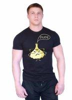 ingrosso stampa foto a colori-New Color Fashion S - XXL Verdura Frutta Aglio divertente stampa Uomo T shirt 0068 Personalizzata t shirt logo testo foto Mens Womens T-shirt