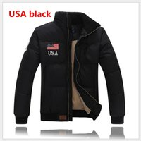 Wholesale plus size down quilted jackets for sale - Group buy Free send men winter jacket thick long sleeve down jacket winter coat down jackets plus size quilted Men PAUL outerwear size M XXL