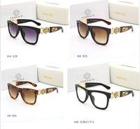 getönte linse großhandel-Neue Cat Eye Frauen Sonnenbrille Abgetönte Farbe Objektiv Männer Outdoor Vintage Sonnenbrille Weibliche Eyewear Schwarze Sonnenbrille kostenloser versand