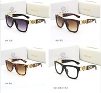 gafas de color teñido al por mayor-Nuevo ojo de gato de las mujeres gafas de sol de color teñido lente hombres gafas de sol al aire libre de la vendimia gafas femeninas gafas de sol negras envío gratis