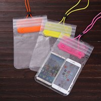 Wholesale waterproof camera swimming for sale - Group buy Quality Clear Waterproof Pouch Mobile Phone Camera Waterproof Bags Dry Bag Cover Case Diving Swimming Sports Bag For Iphone DBC DH1441