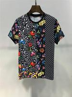calidades de ropa al por mayor-2019 Verano Nueva Llegada Ropa de diseñador de calidad superior Camisetas de moda para hombre Medusa Print Tees Tamaño M-3XL 6214