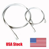 Wholesale pin extension cable wire for sale - Group buy LED Tube Connector Cable Wire Extension Cord for Integrated LED Tube Light White Black Color cm Double End Pin