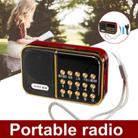 Wholesale dc mp3 player for sale - Group buy DC V W Portable USB FM Radio Speaker FLAC WAV MP3 Music Player