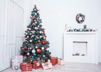 муслиновый фон оптовых-SHENGYONGBAO Art Cloth Backdrops for Photography Christmas day theme Photo Studio Background PX81116-02