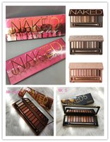 Wholesale naked makeup 12 for sale - Group buy Naked makeup eyeshadow palettes eye shadow pallet color NUDE HEAT CHERRY decay Makeup Naked Palettes