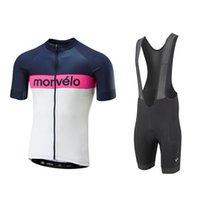 Wholesale nylon cycling shirt resale online - 2019 Morvelo Pro Bicycle Wear Mtb Cycling Clothing Cycling Sets Bike Uniform Cycle Shirt Summer Cycling Jersey Set