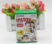 Wholesale fuji camera wholesale online - Fujifilm Instax Mini film for Fuji Instax Mini s Instant Photo Camera Share SP SP White Film