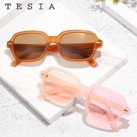 Wholesale polycarbonate sunglasses resale online - Vintage Women Sunglasses Polycarbonate Square Woman Designer Sunglasses Black Pink Glasses Zonnebril Dames UV400 Protection