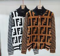 ingrosso nuova giacca di visone-Nuova moda autunno mezza collo alto lavorato a maglia F giacca cardigan mink-like tessuto donna maglia comoda super-maglia