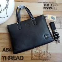 4c0b6a31cafc Wholesale luxury briefcase man for sale - designer man bags genuine leather  briefcase luxury men bag