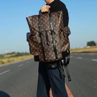 Wholesale men s bag shoulder black resale online - HOT SALE NEW christopher BACKPACK michael kor shoulder bag clutch handbag luxury travel bag luggage package S