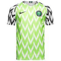 dünya kupası futbol setleri toptan satış-Nigeria Dünya Kupası 2018 Ighalo Ndidi Musa Mikel Deplasman Erkekler Futbol Formalar Futbol Milli Camisetas Gömlek Seti Maillot Maglia Tops