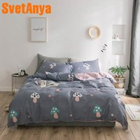 Wholesale bedding for queen size beds resale online - Svetanya pure Cotton Bedding set Single Double King Size Bed Linen for Kids Adults