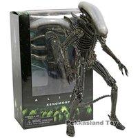 ingrosso grande figura di azione testa-Aliens 7