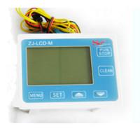controlador de flujo de agua al por mayor-Freeshipping G1 / 4 Pantalla LCD Digital Medidor de Flujo Controlador Sensor de Flujo Medidor de Agua Máquina de Llenado Cuantitativa Automática
