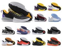 ingrosso nuove scarpe da kobe-2019 nuovo arrivo Kobe MAMBA FOCUS EP Mens scarpe casual per alta qualità KB 7 formazione nero giallo scarpe casual taglia 40-46