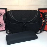 Wholesale wet diapers resale online - Designer baby nappy changing bag High End Designer Luxury Handbags Purses baby designer diaper bags diaper bag High quality sac a langer