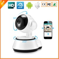hd câmera monitor venda por atacado-Nova Casa de Segurança Câmera IP Sem Fio Wi-fi Inteligente Câmera WI-FI Gravador De Áudio Vigilância Bebê Monitor HD Mini CCTV iCSee