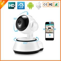 cctv gözetleme monitörü toptan satış-Yeni Ev Güvenlik IP Kamera Kablosuz Akıllı WiFi Kamera WI-FI Ses Kayıt Gözetleme Bebek Monitörü HD Mini CCTV iCSee
