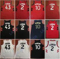 de9f614e6972 NCAA 2019 Hombres Kyle Lowry Baloncesto Jersey 43 Siakam 2 Leonard 10  DeRozan 9 Ibaka Stitched Jerseys Edition City