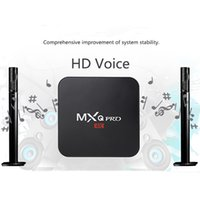 Wholesale allwinner pro for sale - Group buy MXQ PRO K H3 Android tv box Allwinner H3 Android G G WiFi add ons K set top box