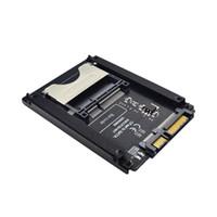 ssd kartları toptan satış-Cfast Sata3.0 Sabit Disk Adaptörü Kartı Sata 22Pin Cfast Kart Adaptörü 2.5 Inç Sabit Disk Kasa Ssd Hdd Okuyucu Için