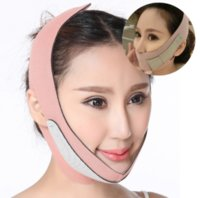 Wholesale face lift belt for sale - Group buy Pink Orange Lady V Face lift Belt Reduce Wrinkles Thin Face Bandage Frap Double Chin Body Sculpting Slimming