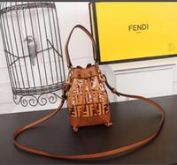 Wholesale two tone business dresses resale online - Brand new French high quality ladies handbag brand metal buckle leather business fashion handbag casual shoulder bag