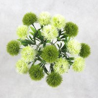 centros de mesa al por mayor-Simulation Plant For Artificial Flowers Single Stem Plastic Flower Wreaths Wedding Decorations Home Garden Table Centerpieces HH9-2122