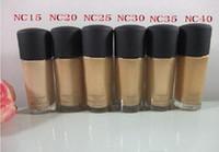 Wholesale best moisturizer creams for sale - Group buy Studio Fix Fluid Liquid Foundation NC Colors BB CREAM BEST Makeup CONCEALER ML